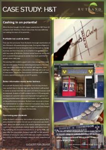 Case Study - H&T Pawnbrokers